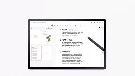 Galaxy Tab S7/S7+ 5G 做筆記一次上手