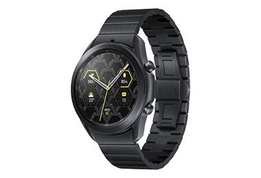 >Galaxy Watch3 藍牙智慧手錶 45mm 鈦金屬